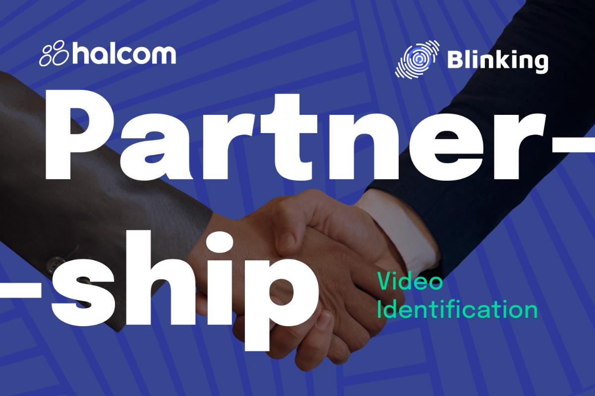 Halcom i Blinking zajedno pružaju uslugu video identifikacije korisnika na daljinu