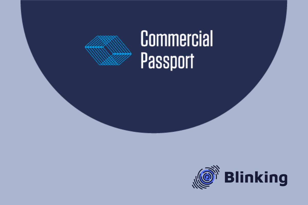 Commercial Passport  – international KYC provider will employ Blinking Identify platform