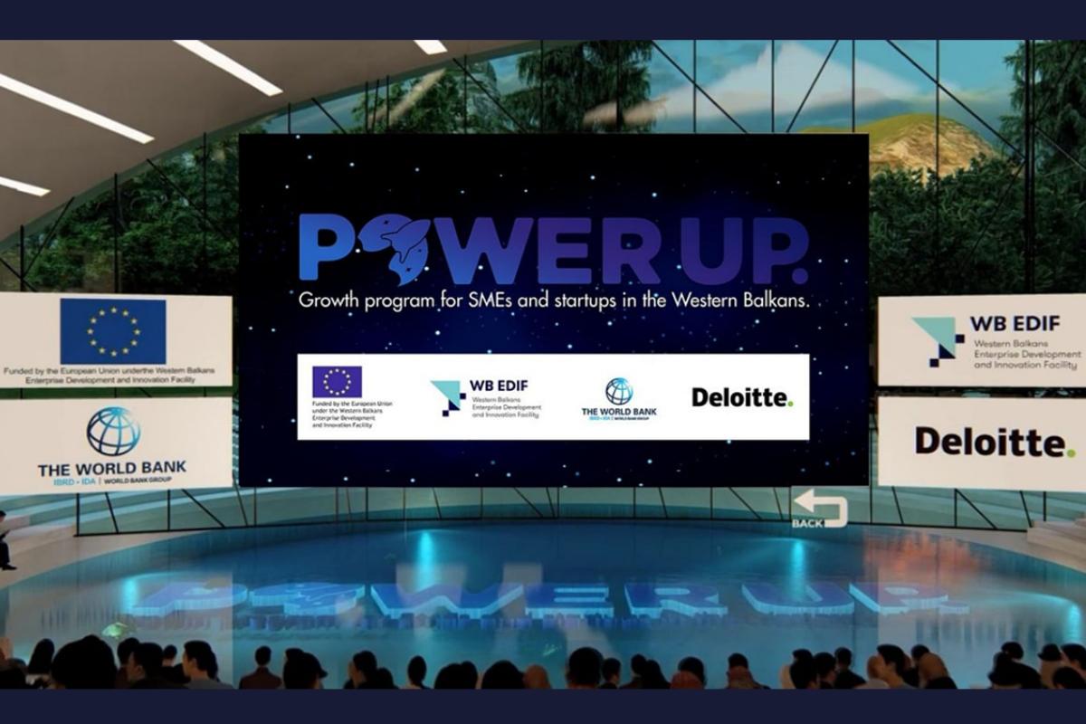 Blinking among the winners of the PowerUP program