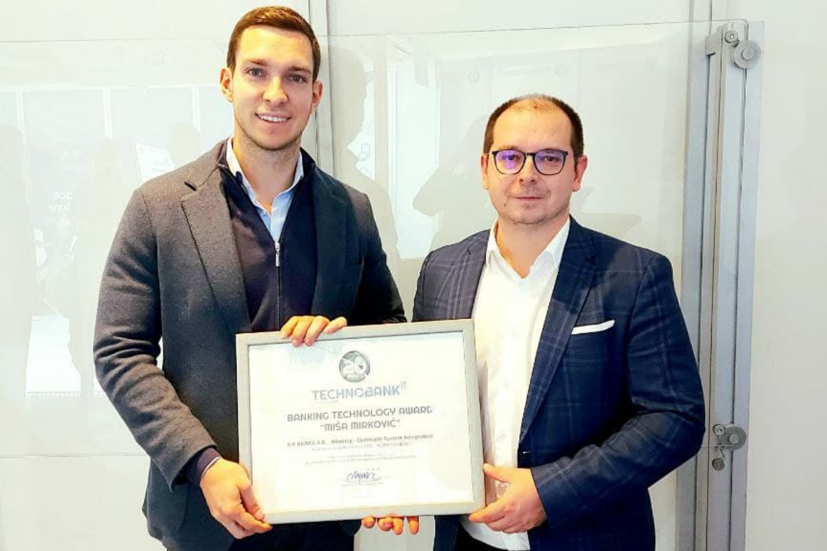"""Most Innovative Product – Banking Technology Award """"Miša Mirković"""""""