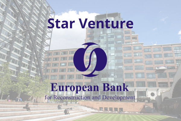 Blinking is selected for the EBRD's Star Venture Scaling Programme