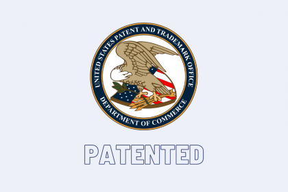 USPTO Issues Patent to Blinking –  Authentication Method For A Client Over A Network